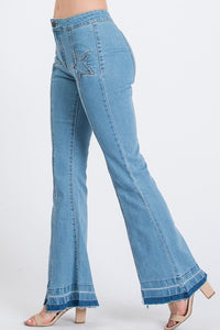 Star Bright Flared Jeans