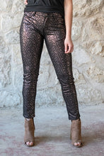 Walk My Way Skinnies - Metallic
