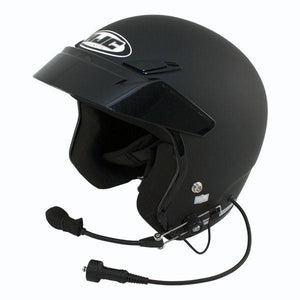 PCI ELITE WIRED HJC CS-5N OPEN FACE HELMET