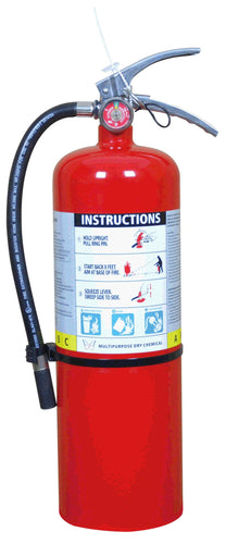 10LB MULTIPURPOSE DRY CHEMICAL POWER FIRE EXTINGUISHER