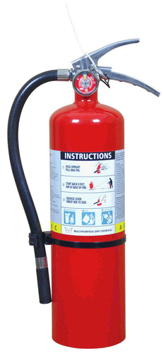 5LB MULTIPURPOSE DRY CHEMICAL POWER FIRE EXTINGUISHER