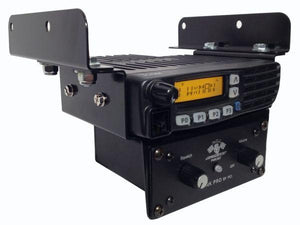 POLARIS RZR NO BOX ICOM RADIO AND INTERCOM BRACKET