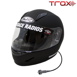 PCI TRAX WIRED HJC CL-Y YOUTH HELMET WITH RACEAIR