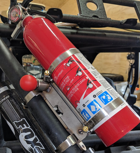 Fire Extinguisher Mount for Race Cars