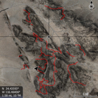 KING OF THE HAMMERS LOWRANCE MAP