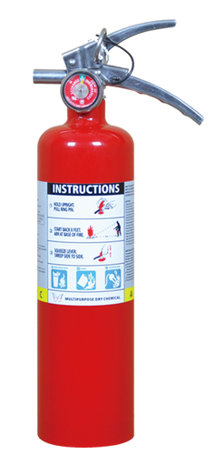 Fire Extinguisher 2.5 pound ABC