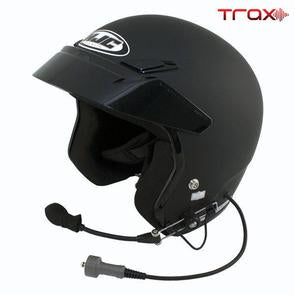 PCI TRAX WIRED HJC CS-5N OPEN FACE HELMET