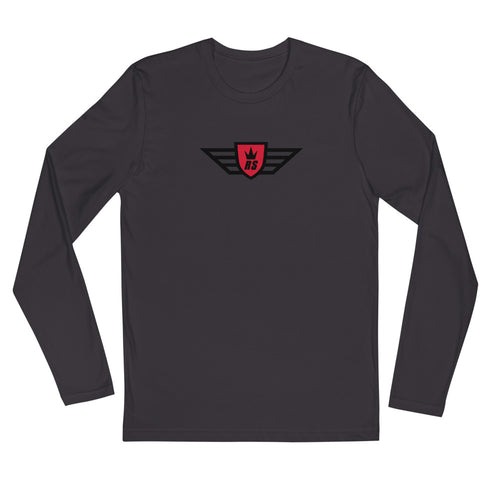 BAJA TRUCK Long Sleeve Fitted Crew