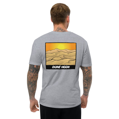 DUNE HOON Short Sleeve Fitted T-shirt