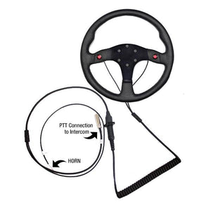 QUICK DISCONNECT STEERING WHEEL TWO WIRES FOR PTT