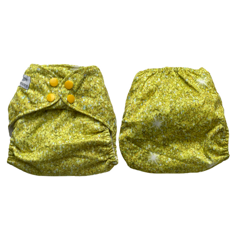 Yellow Spring sparkle  - in stock
