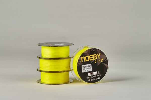 PE Braid 300mtrs - Yellow