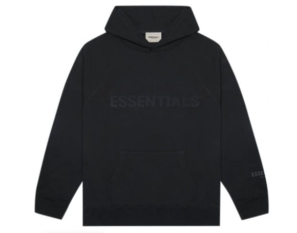 FEAR OF GOD - ESSENTIALS - Hoodie Black
