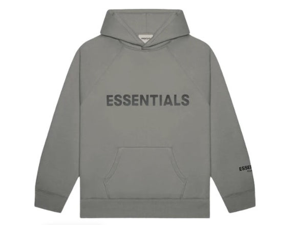 FEAR OF GOD - ESSENTIALS - Hoodie Gray Charcoal