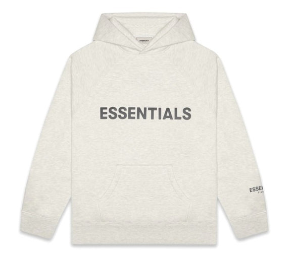 FEAR OF GOD - ESSENTIALS - Hoodie Light heather oatmeal