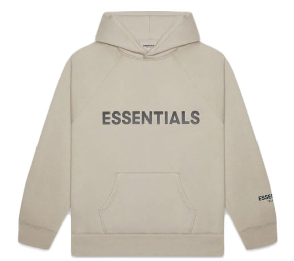 FEAR OF GOD - ESSENTIALS - Hoodie Olive Khaki