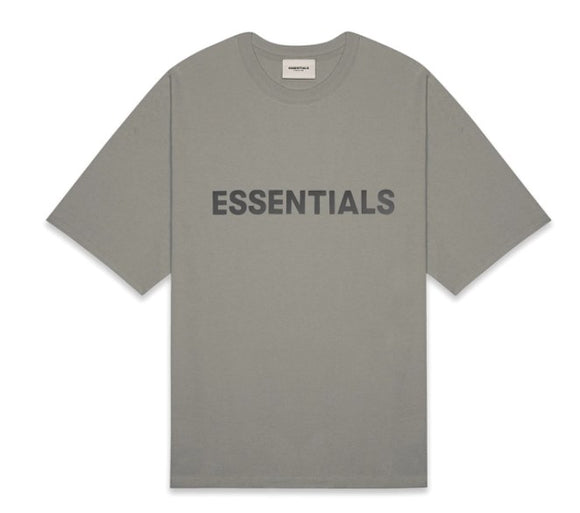 FEAR OF GOD - ESSENTIALS -Boxy T-shirt Cement