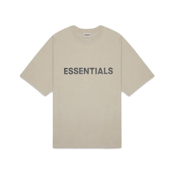 FEAR OF GOD - ESSENTIALS -Boxy T-shirt Olive Khaki