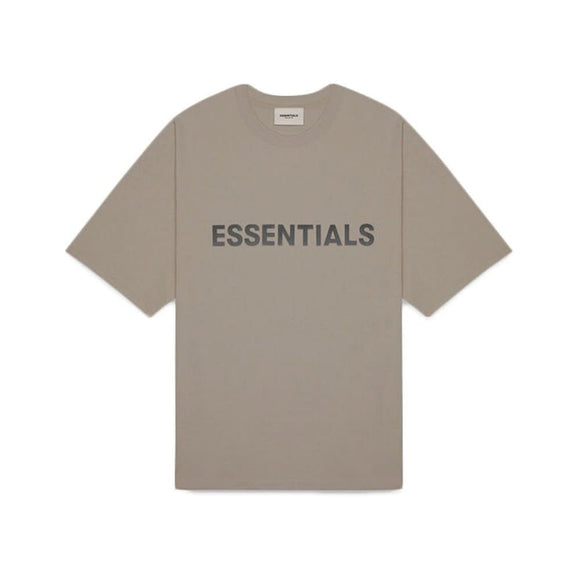 FEAR OF GOD - ESSENTIALS -Boxy T-shirt Taupe