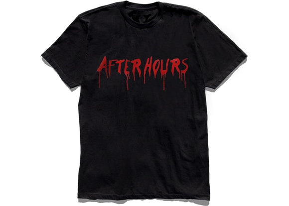 Vlone x The Weekend After Hours Blood drip Tee