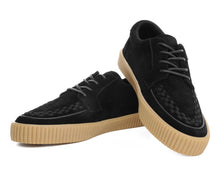 Load image into Gallery viewer, A9252 EZC BLK SUEDE SNEAKER