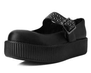 V9595L - Vegan Round Toe Creeper MJ