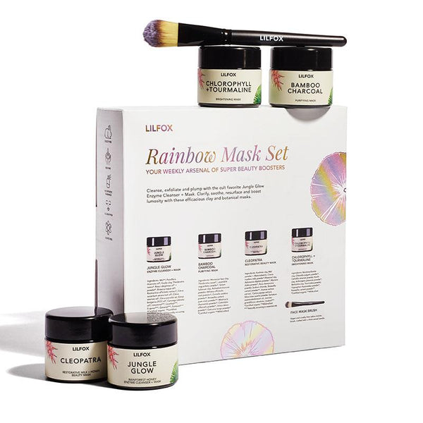 Radiant Fox Rainbow Mask Set