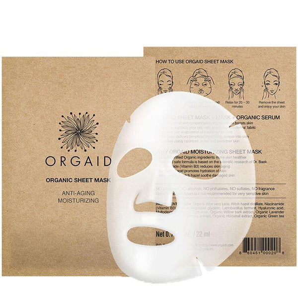 Anti-Aging + Moisturizing Organic Sheet Mask