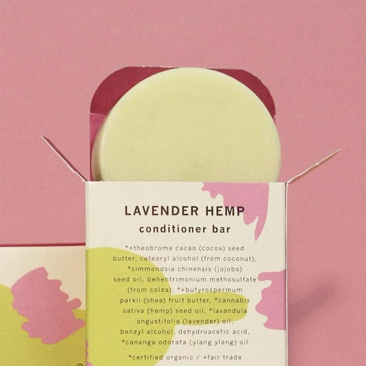 Lavender Hemp Conditioning Bar