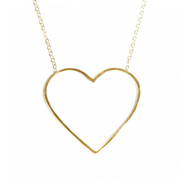 Heart of Gold Petite Necklace