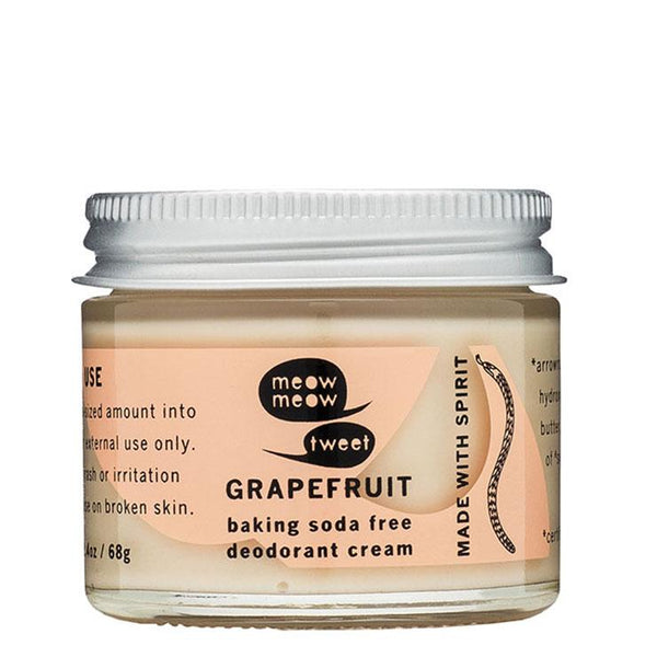 B.S. Free Grapefruit Deodorant Cream
