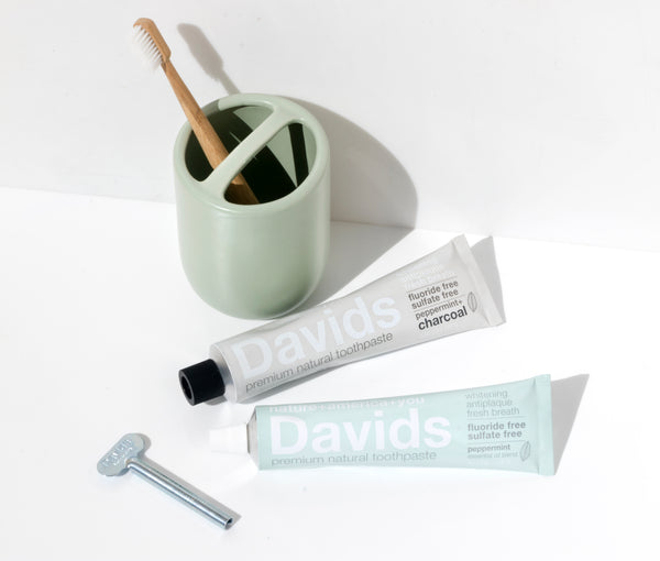 Peppermint + Charcoal Toothpaste