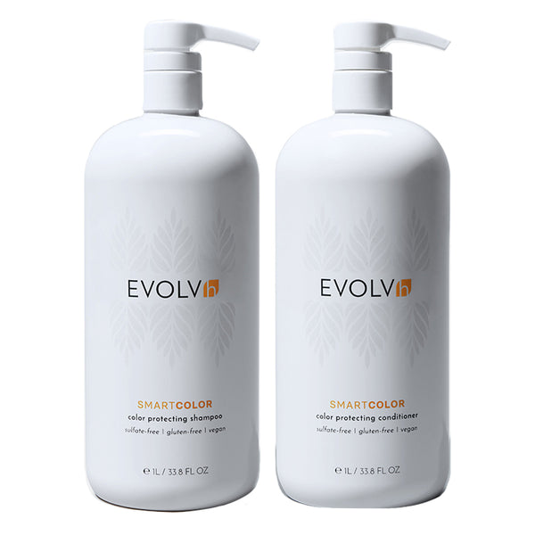 SmartColor Shampoo + Conditioner Liter Duo