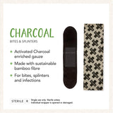Charcoal Bamboo Bandages
