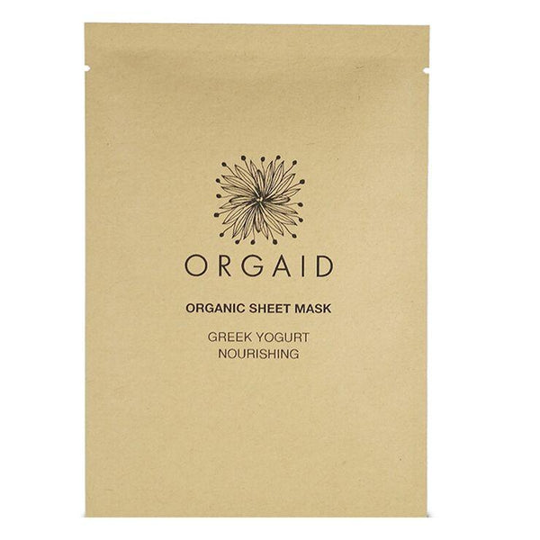 Greek Yogurt Nourishing Organic Sheet Mask