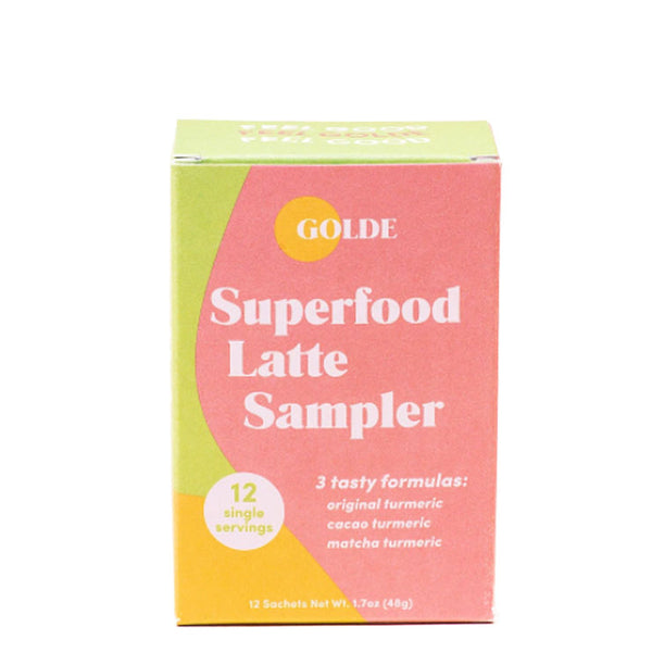 Superfood Latte Sampler