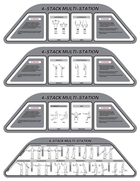 4 STACK MULTI-STATION (Jungle Station)
