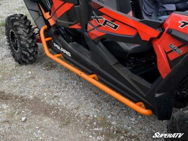 Polaris RZR XP 4 Turbo Rock Sliding Nerf Bars