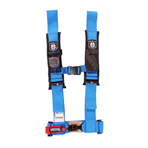 "4 Point 3"" Harness with Sewn In Pads"