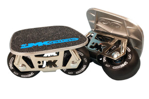 JMK Freeskates - Chrome/Black
