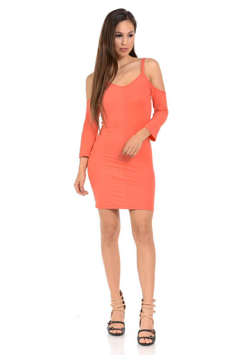 Diamante Fashion Women's Dress - Style D133