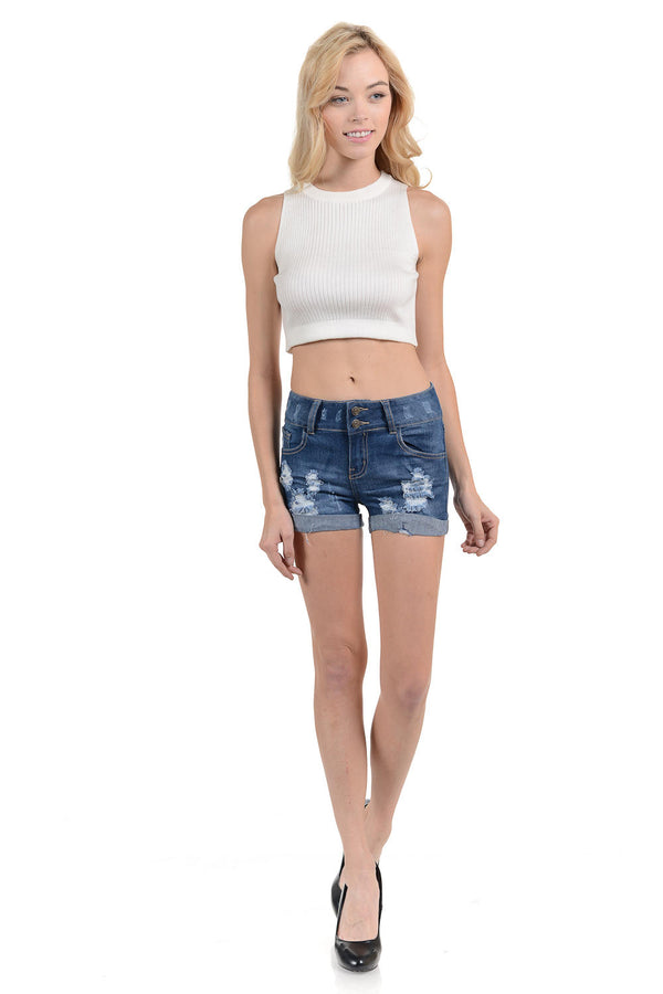 Sweet Look Women's Shorts - Skinny - Style N793HR
