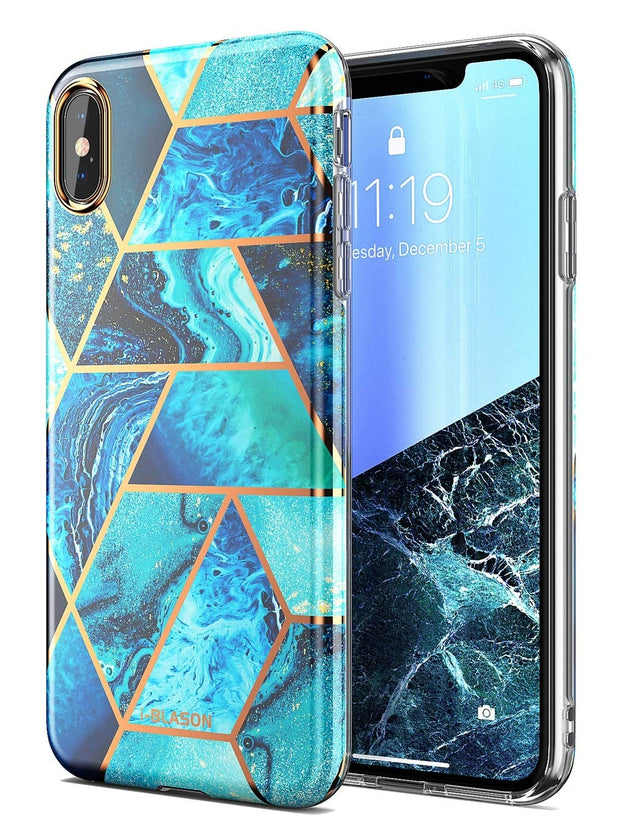 iPhone XS Max Cosmo Lite Case-Ocean Blue