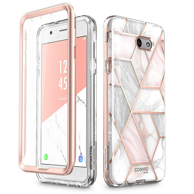 Galaxy J7 (2017) Cosmo Case - Marble Pink