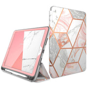 iPad Air 3 10.5 inch (2019) Cosmo Case-Marble Pink