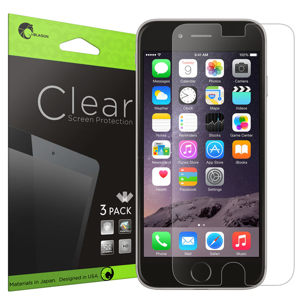 Ultra HD Clear Screen Protector for Apple iPhone 6S Plus | 6 Plus 3 Pack