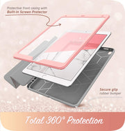 iPad Air 10.5 inch (2019) Cosmo Case-Marble Pink