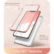 iPhone 11 Pro Cosmo Case-Marble Pink