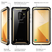 Samsung Galaxy S9 Ares Case-Gold