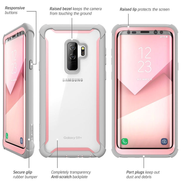 Samsung Galaxy S9 Plus Ares Case - Pink